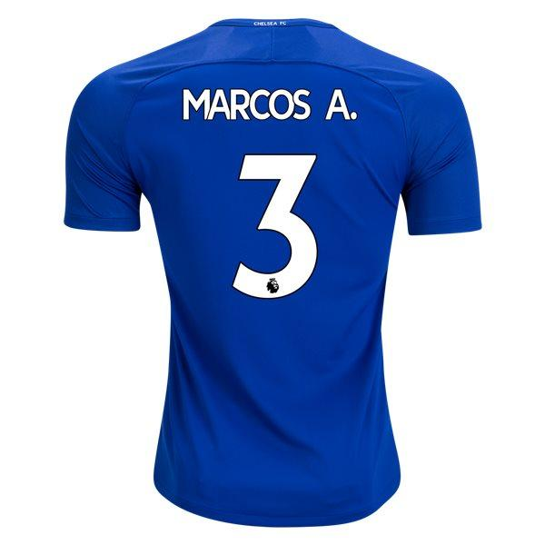 promo code 347f6 0030c Chelsea 17/18 Home Jersey Marcos Alonso #3