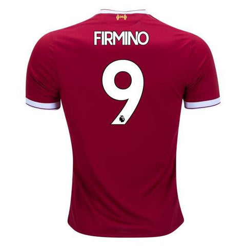 Liverpool 17/18 Home Jersey Firmino #9