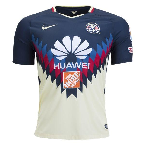 Club América 17/18 Home Jersey Ready to Ship! Jersey TNT Soccer Shop