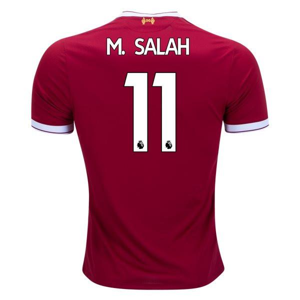 Liverpool 17/18 Home Jersey M. Salah #11 Ready to ship! Jersey TNT Soccer Shop