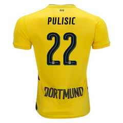 Borussia Dortmund 17/18 Home Jersey Pulisic #22 Full Kit READY TO SHIP! Jersey TNT Soccer Shop
