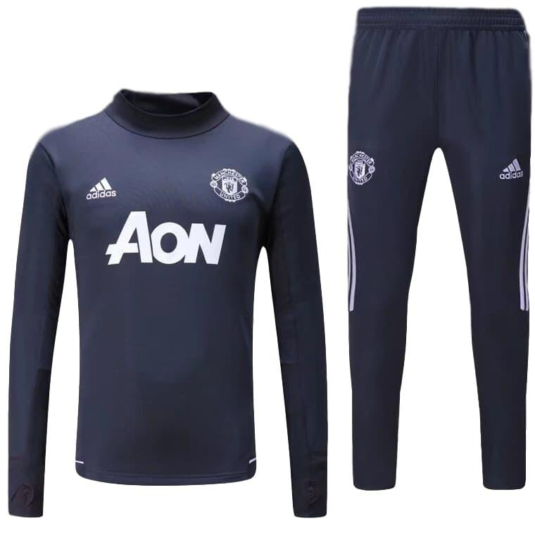 Man. United 17/18 Dark Grey Tracksuit Jacket TNT Soccer Shop