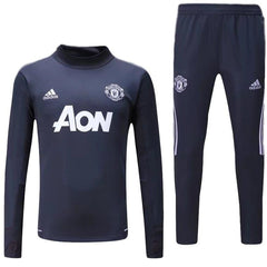 Man. United 17/18 Dark Grey Tracksuit