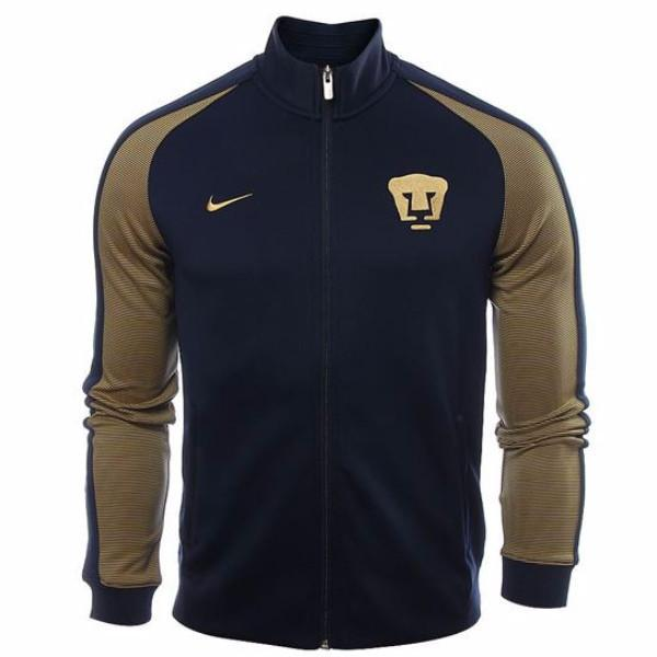 070e7c074 UNAM Pumas 2017 Blue N98 Jacket - IN STOCK NOW - TNT Soccer Shop