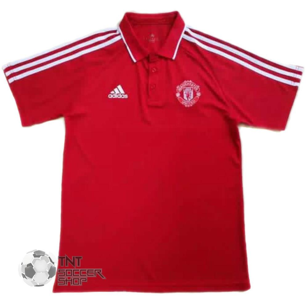 Man. United 2017 Red Polo Polo TNT Soccer Shop