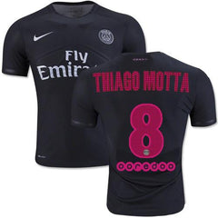 Paris Saint Germain 15-16 Third Jersey Thiago Motta #8- READY TO SHIP! Jersey TNT Soccer Shop