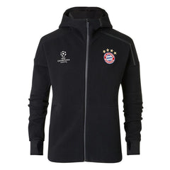 Bayern Munich 2017 Z.N.E Black Jacket - IN STOCK NOW - TNT Soccer Shop