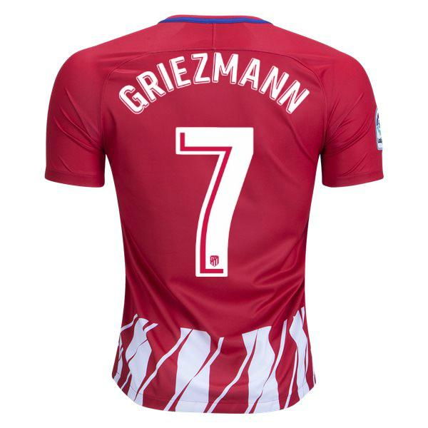 big sale cb52f d6a4c Atletico Madrid 17/18 Home Jersey Griezmann #7