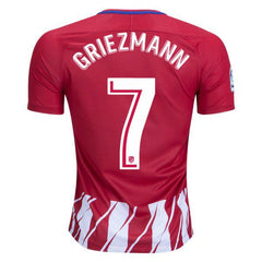 Atletico Madrid 17/18 Home Jersey Griezmann #7