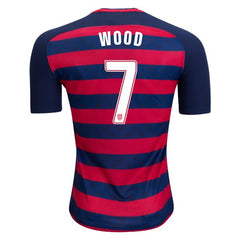 USA 2017 Gold Cup Jersey Wood #7 Jersey TNT Soccer Shop