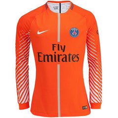 Paris Saint-Germain 17/18 Goalkeeper Jersey Personalized