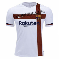 Barcelona 19/20 White Pre-Match Training Jersey - IN STOCK NOW - TNT Soccer Shop