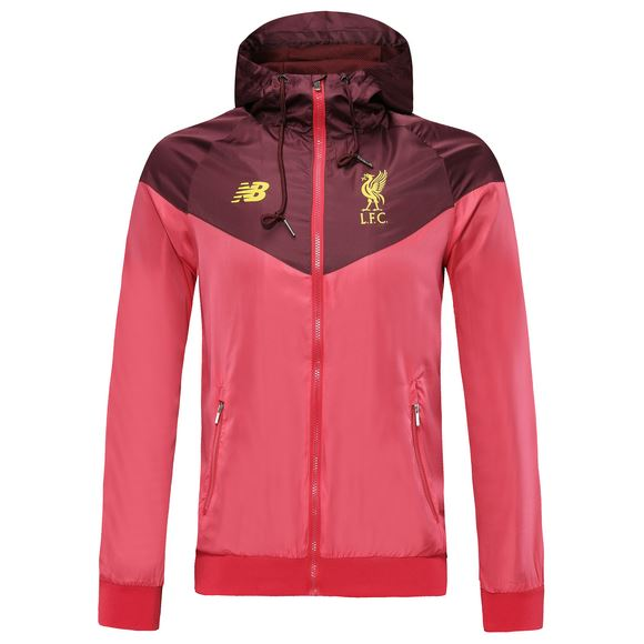 Liverpool 19/20 Red Windbreaker Jacket TNT Soccer Shop
