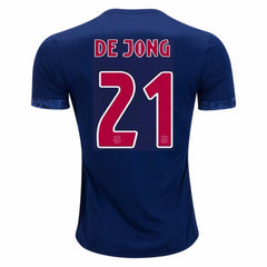 Ajax 17/18 Away Jersey De Jong #21 - IN STOCK NOW - TNT Soccer Shop