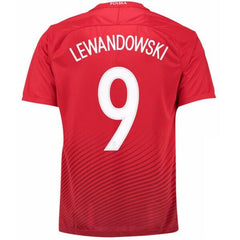 Poland 2016 Away Jersey Lewandowski #9 - IN STOCK NOW - TNT Soccer Shop