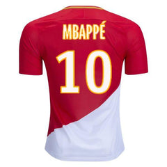 AS Monaco 17/18 Home Jersey Mbappé #10 Jersey TNT Soccer Shop