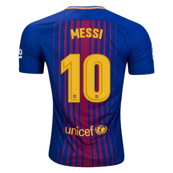 21b1557c264 Barcelona 17 18 Home Jersey Messi  10 - IN STOCK NOW - TNT Soccer