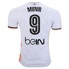 Valencia 16/17 Home Jersey Munir #9 - IN STOCK NOW - TNT Soccer Shop