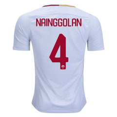 AS Roma 17/18 Away Jersey Nainggolan #4 - IN STOCK NOW - TNT Soccer Shop
