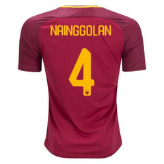 AS Roma 17/18 Home Jersey Nainggolan #4 - IN STOCK NOW - TNT Soccer Shop