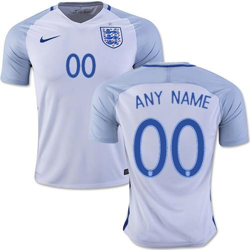 England 2016 Home Jersey Personalized Jersey TNT Soccer Shop
