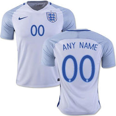 England 2016 Home Jersey Personalized - IN STOCK NOW - TNT Soccer Shop