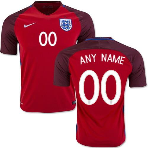 England 2016 Away Jersey Personalized Jersey TNT Soccer Shop