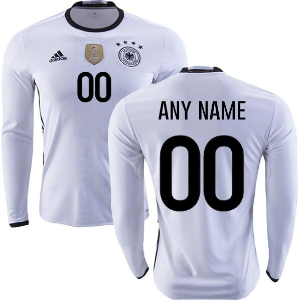 Germany 2016 Home LS Jersey Personalized - IN STOCK NOW - TNT Soccer Shop