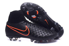 Magista Orden II FG - Black Total Crimson READY TO SHIP! Footwear TNT Soccer Shop