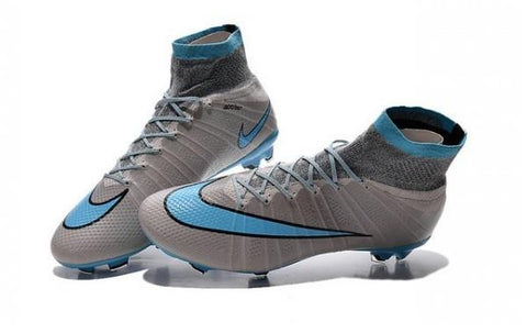 best service 244f5 08363 Mercurial Superfly FG - Gray Sky blue - IN STOCK NOW - TNT Soccer Shop