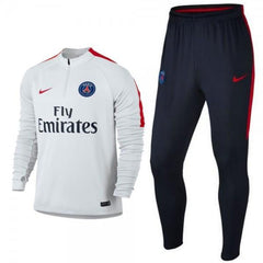 Paris Saint-Germain 16/17 White Pre-Match Tracksuit Tracksuit TNT Soccer Shop