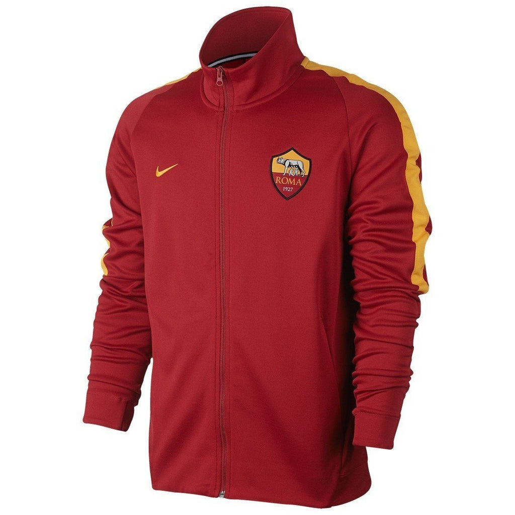 AS Roma 17/18 Red Track Jacket Jacket TNT Soccer Shop