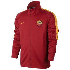 8aa0856a AS Roma 17/18 Red Track Jacket - IN STOCK NOW - TNT Soccer Shop