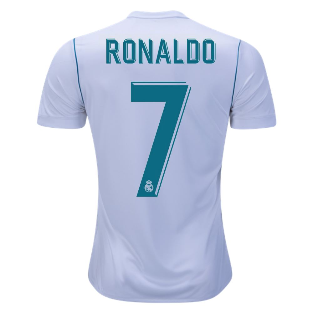 Real Madrid 17/18 Home Jersey Ronaldo #7 Ready to Ship! Jersey TNT Soccer Shop