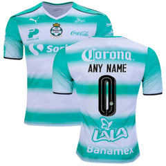 Santos Laguna 16/17 Home Jersey Personalized - IN STOCK NOW - TNT Soccer Shop