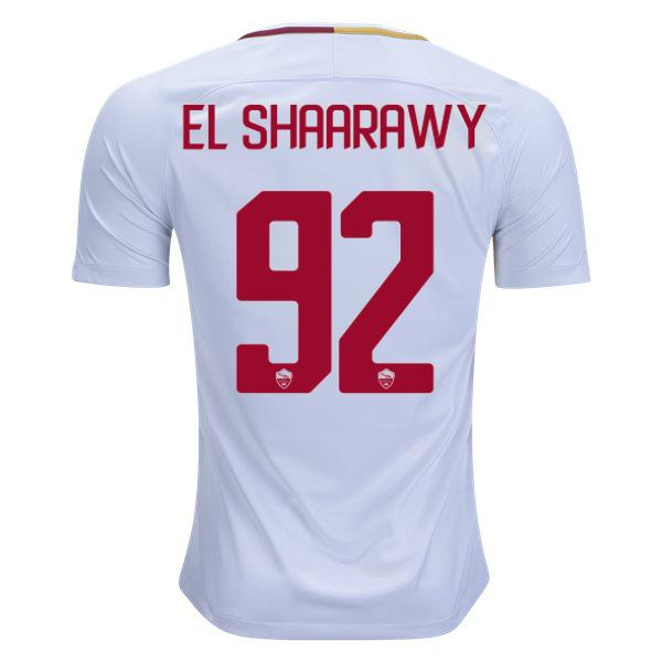 AS Roma 17/18 Away Jersey El Shaarawy #92 - IN STOCK NOW - TNT Soccer Shop