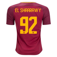 AS Roma 17/18 Home Jersey El Shaarawy #92 - IN STOCK NOW - TNT Soccer Shop
