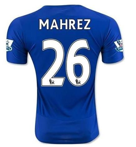 Leicester City 15-16 Home Jersey Mahrez #26 - IN STOCK NOW - TNT Soccer Shop