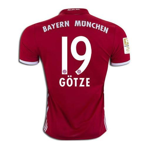 Bayern Munich 16/17 Home Jersey Götze #19 - IN STOCK NOW - TNT Soccer Shop