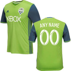 Seattle Sounders 16-17 Home Jersey Personalized Jersey TNT Soccer Shop