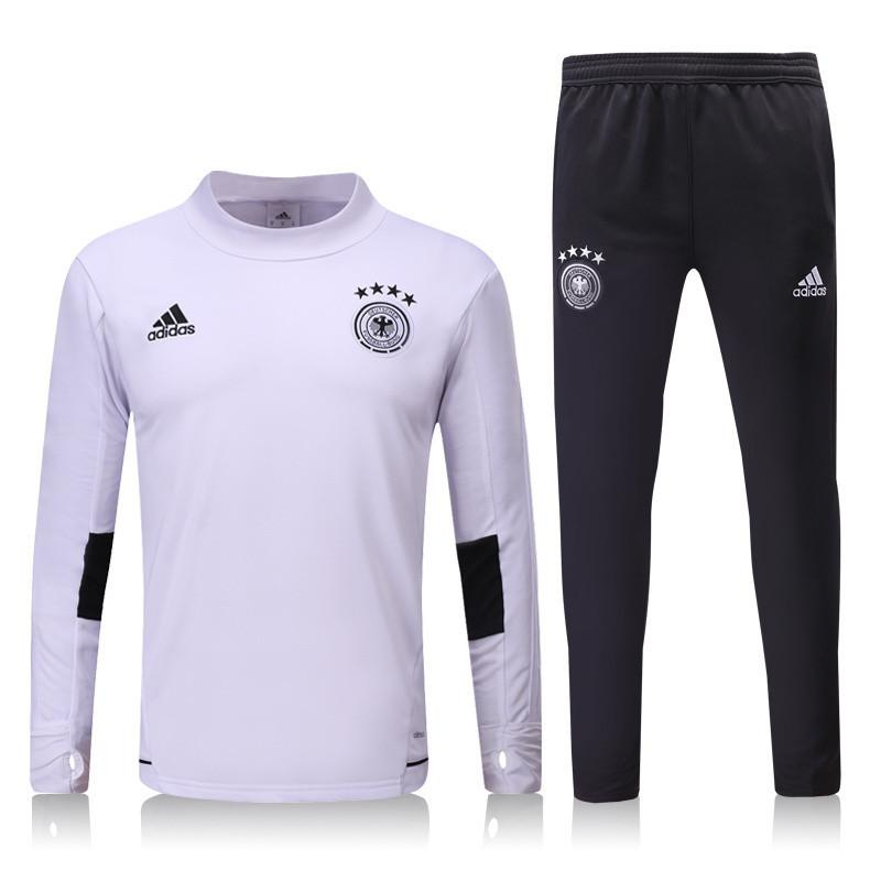 Germany 2017 White Tracksuit Tracksuit TNT Soccer Shop