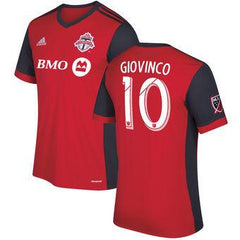 Toronto FC 2017 Home Jersey Giovinco #10 READY TO SHIP! - IN STOCK NOW - TNT Soccer Shop