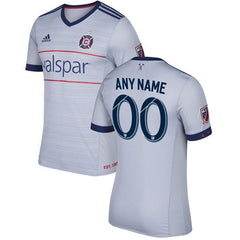 Chicago Fire 2017 Away Jersey Personalized - IN STOCK NOW - TNT Soccer Shop