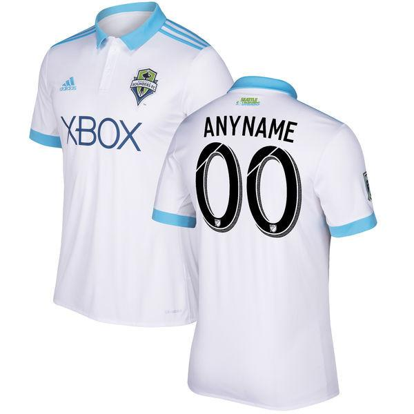 buy popular 37a5f 4a7a9 Seattle Sounders 17/18 Away Jersey Personalized