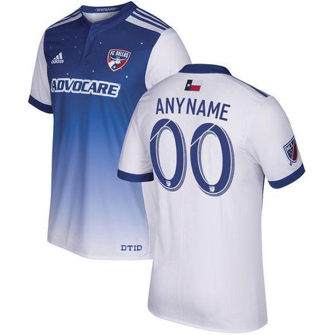FC Dallas 2017 Home Jersey Personalized - IN STOCK NOW - TNT Soccer Shop