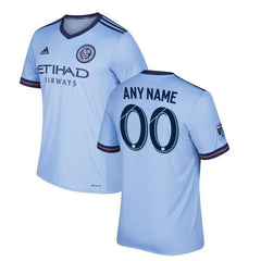 New York City FC 2017/18 Home Jersey Personalized Jersey TNT Soccer Shop