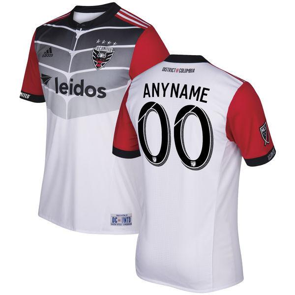 D.C. United 17/18 Away Jersey Personalized Jersey TNT Soccer Shop