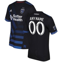 San Jose Earthquakes 17/18 Home Jersey Personalized - IN STOCK NOW - TNT Soccer Shop
