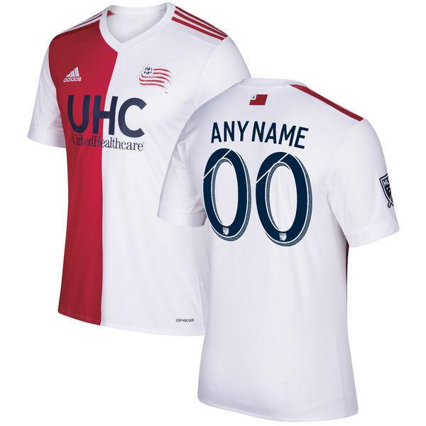 low priced 3b129 53d2c New England Revolution 17/18 Home Jersey Personalized