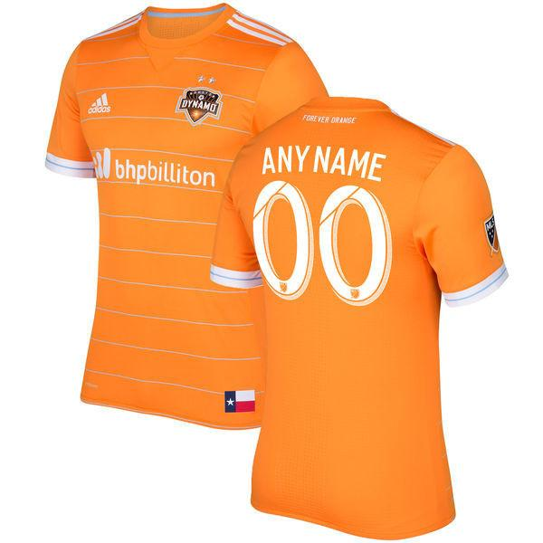 official photos a7972 c03bc Houston Dynamo 17/18 Home Jersey Personalized